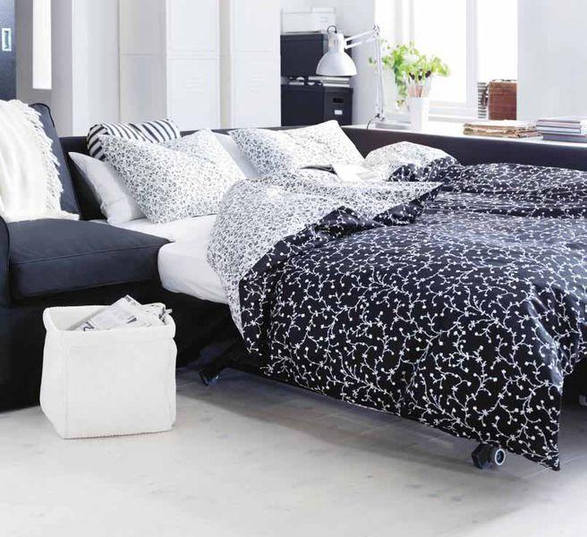 einrichtungsideen kleine r ume schlaf und wohnzimm. Black Bedroom Furniture Sets. Home Design Ideas