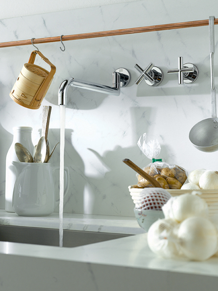 Kuchendesign kuchenarmatur tara von dornbracht for Dornbracht küchenarmatur