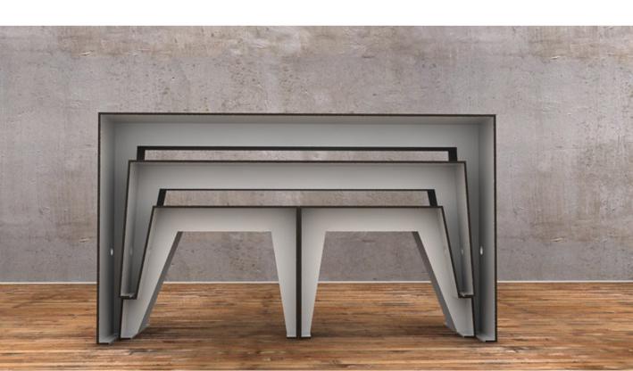 Kleine Wohnung Gut Gestalten : Kleine Räume gestalten Compact Café Table
