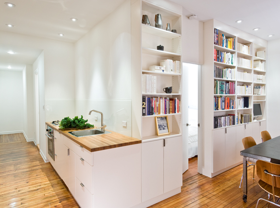 New York Small Apartment Kitchens