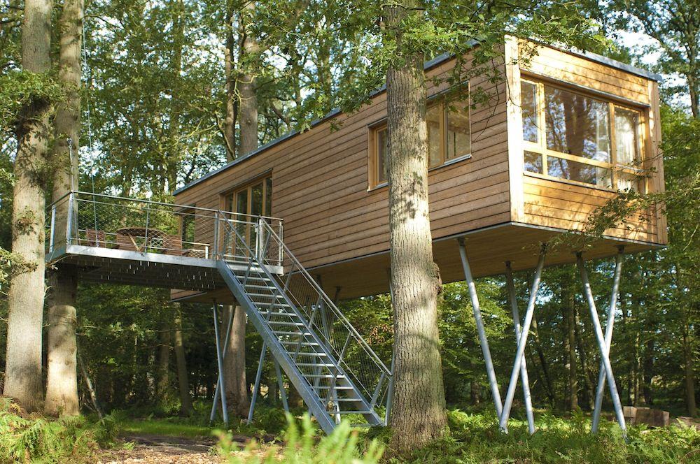 baumgefl ster ein ferienhotel im baumhaus. Black Bedroom Furniture Sets. Home Design Ideas