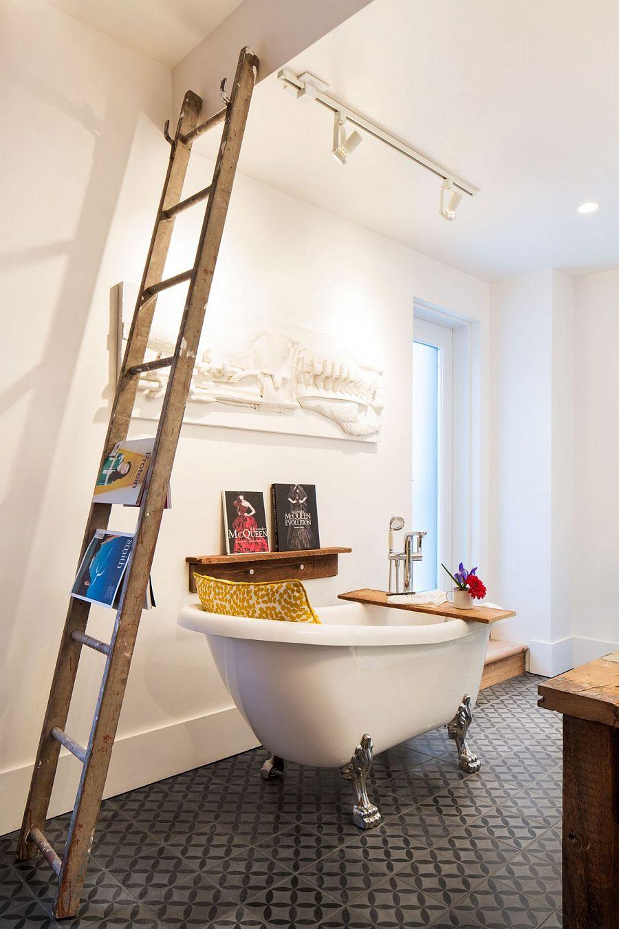 ein haus in montreal von 1880. Black Bedroom Furniture Sets. Home Design Ideas