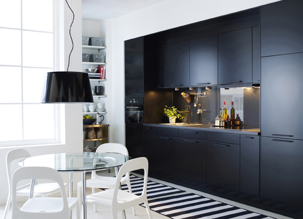K che in schwarz und weiss for Nouvelle cuisine ikea