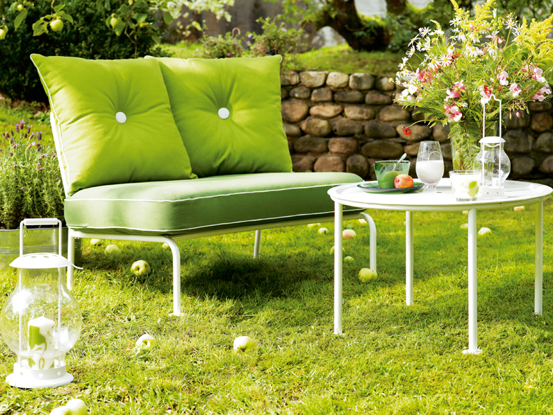gartentrends 2009: liegen, sitzen, schaukeln, Gartenmöbel
