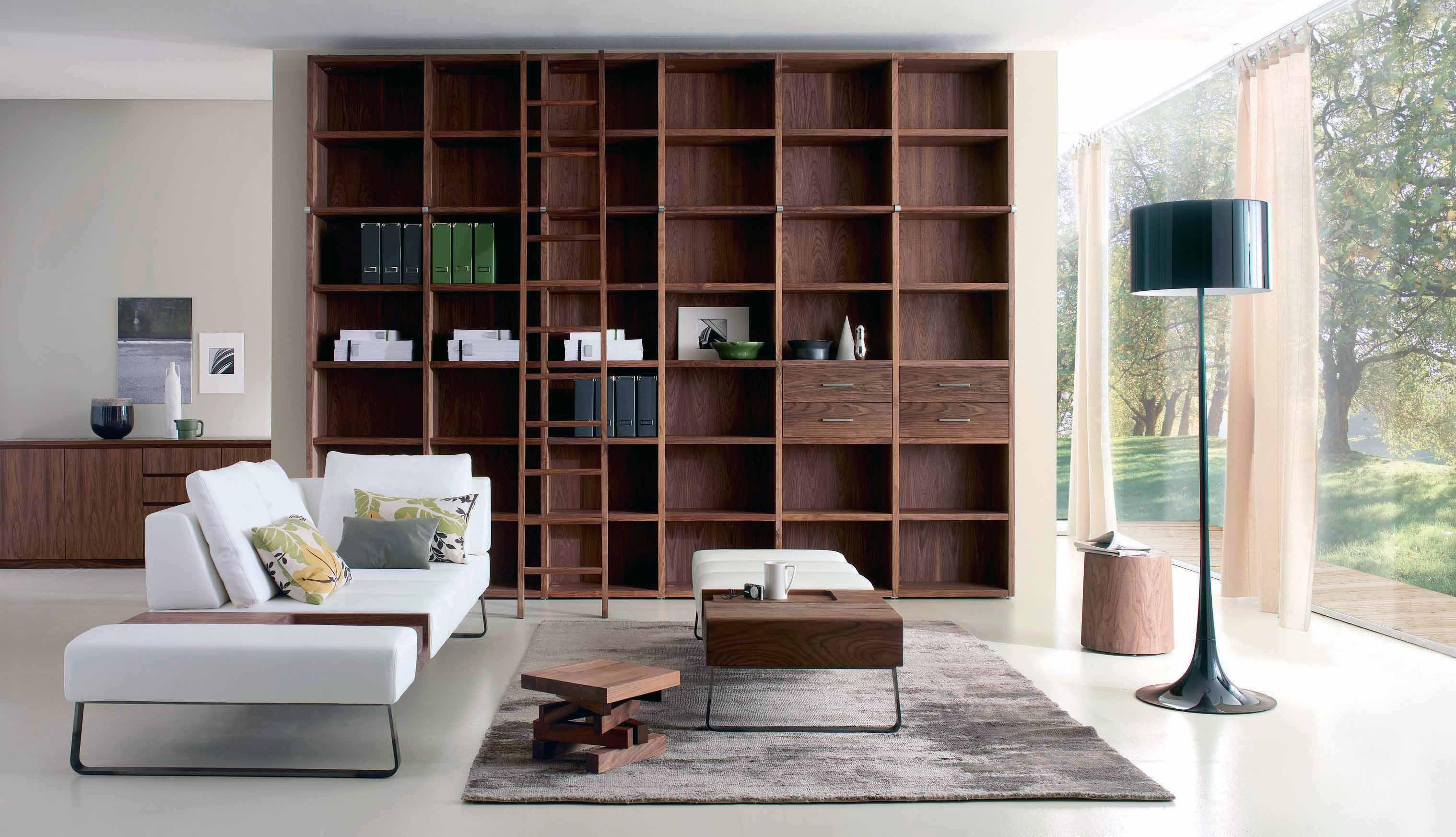 Wohnzimmer Holz Weiß – MiDiR