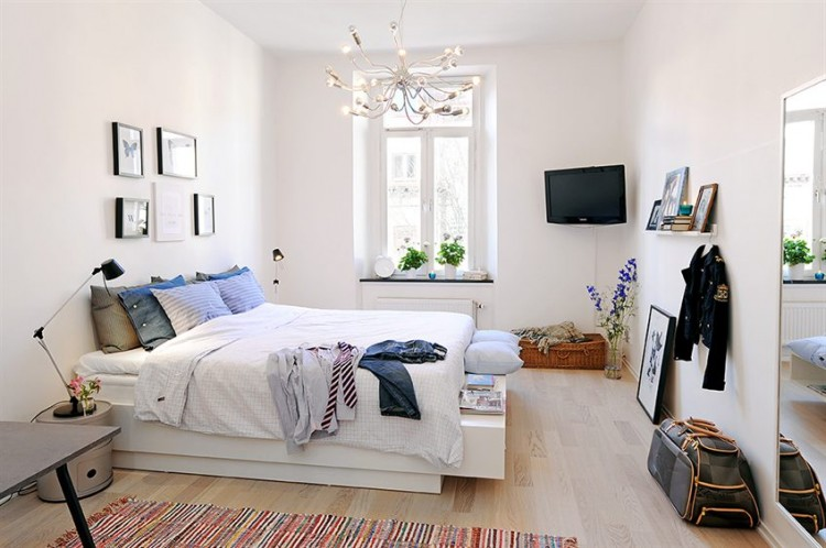 Creating A Cozy Bedroom Ideas Inspiration: Kleine Wohnung: Ein Zweiraum-Appartement In Göteborg