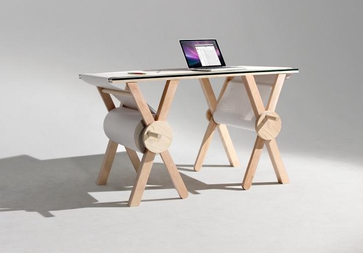 Möbeldesign: Ein Schreibtisch für die Ewigkeit