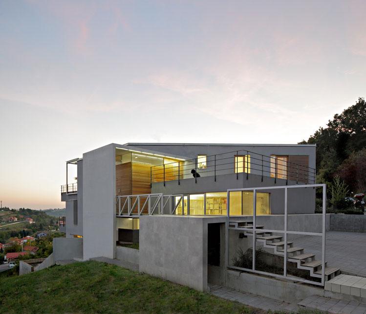 Steep Slope House Design