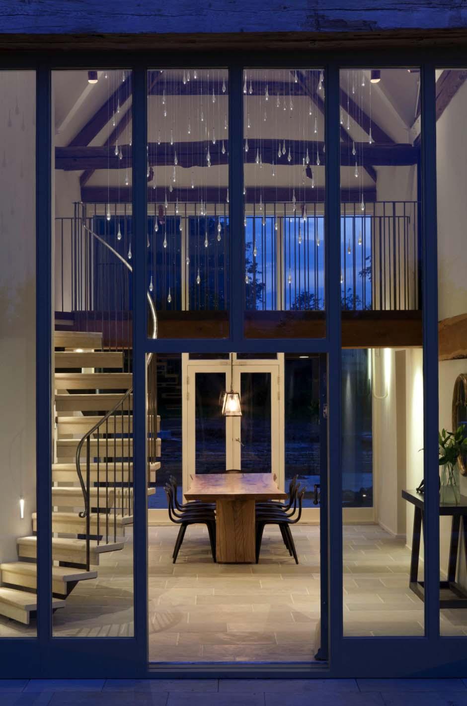chill ecke wohnzimmer:Esszimmer im alten Eingangsbereich