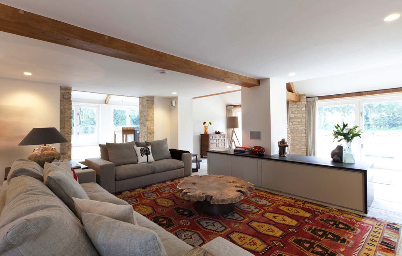 chill ecke wohnzimmer:Wohnzimmer mit großzügiger Chill-Ecke