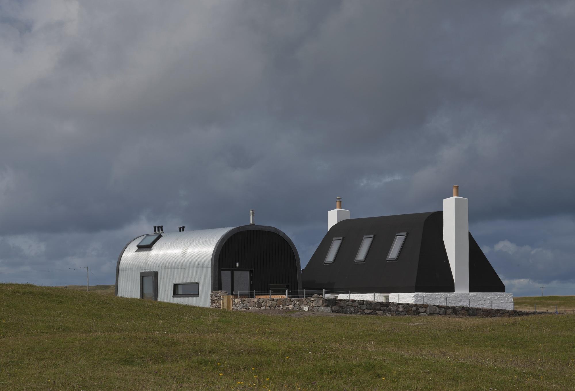 Modernisiert: Ein schottisches Cottage im neuen Look