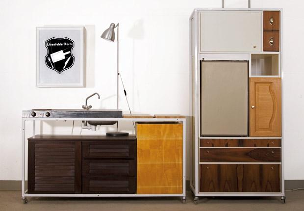 recycling m bel k che aus alten k chenfronten. Black Bedroom Furniture Sets. Home Design Ideas