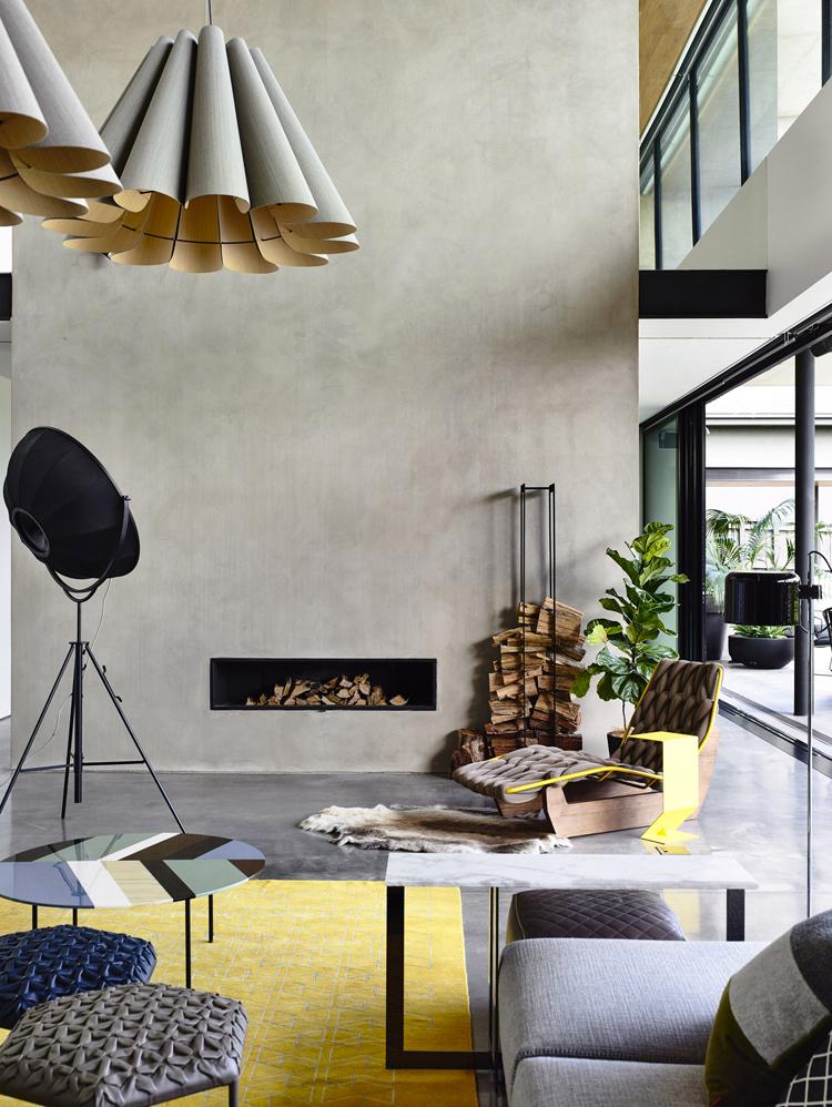 Wohnen und einrichten mit beton