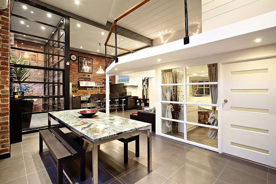 Loft Einrichten Ein Altes Lagerhaus In Melbourne   Loft Einrichten