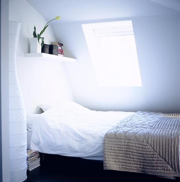 schlafzimmer einrichten mit dachschr gen