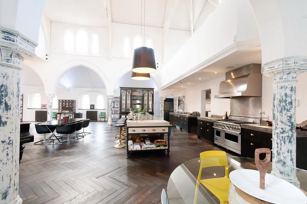 Fantastisch Wohnung Mit Küche London Galerie - Küchenschrank Ideen ...