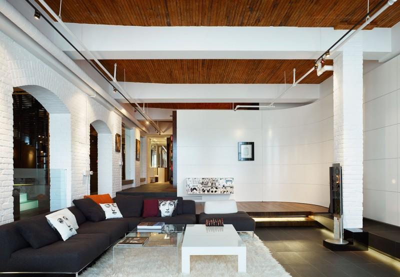Wohnzimmer Im Urban Loft Stil Gestalten Esszimmer Mood Style