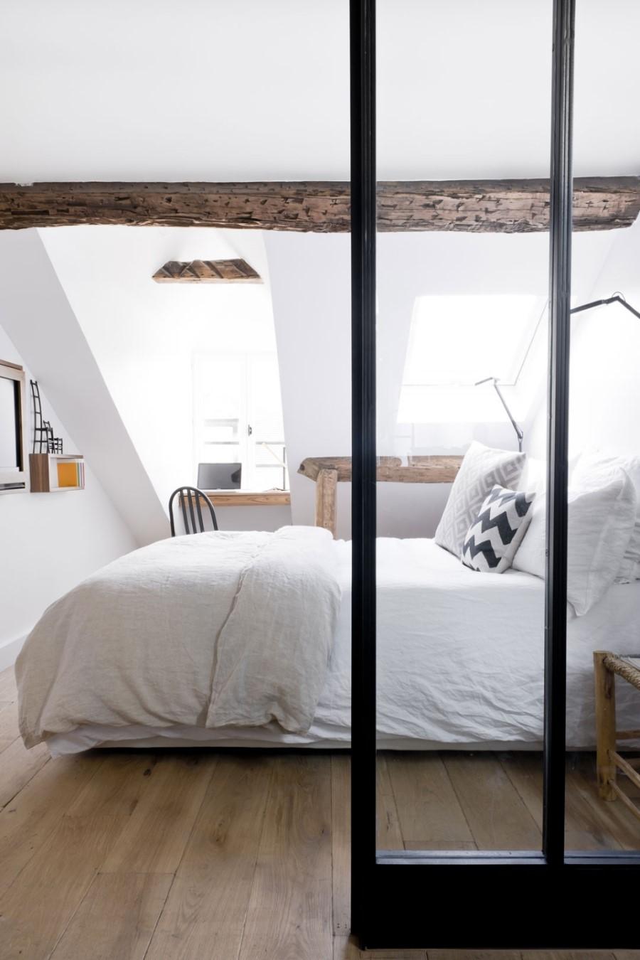 ein pariser loft in einem gebäude aus dem 18. jahrhundert, Badezimmer