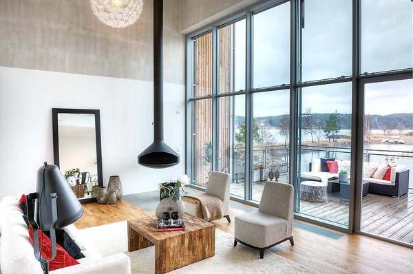 wohnen am meer schwedische einrichtungsideen. Black Bedroom Furniture Sets. Home Design Ideas
