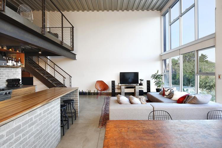 Loft Architektur ein loft in washington d c mit industriellem charme