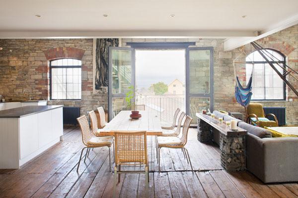 maritime einrichtungsideen eine wohnung in einem alten. Black Bedroom Furniture Sets. Home Design Ideas