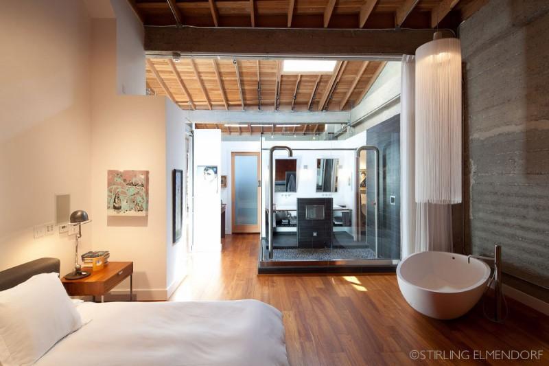 ein loft in einer alten wäschefabrik, Innenarchitektur ideen