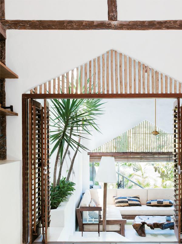 Mediterrane Einrichtungsideen: Ein Haus in Brasilien