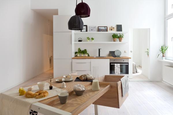 Minimalistisch Einrichten Ein Appartement In Berlin