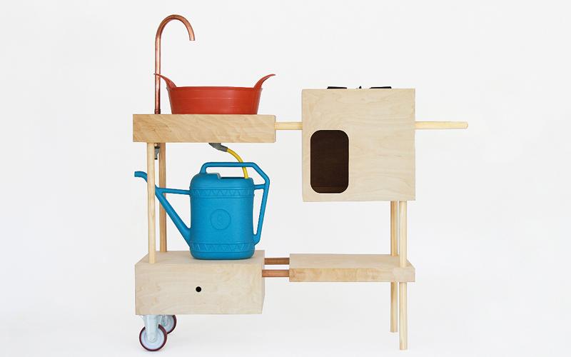 outdoor k che von studiomama. Black Bedroom Furniture Sets. Home Design Ideas