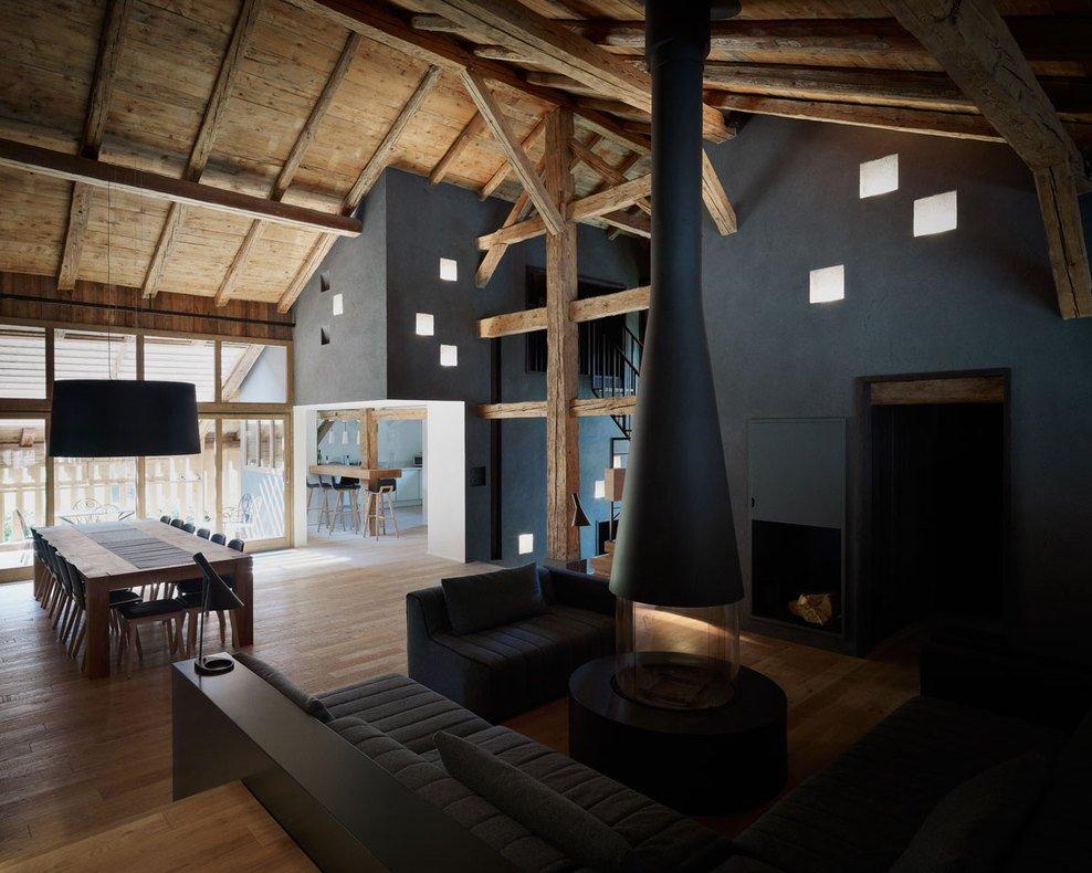 Wohnideen Holzhaus ein historisches bauernhaus in frankreich