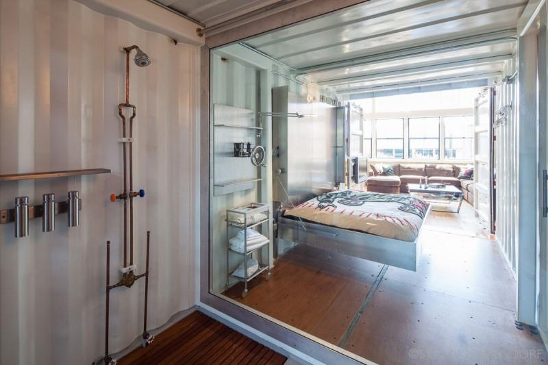 Wohnideen Container ein loft in einer alten wäschefabrik